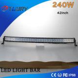 Nuevo diseño LED Lightbar del CREE negro auto con IP68 240W