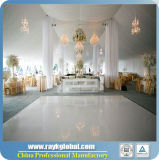 Светотеневая танцевальная площадка танцевальной площадки переклейки для венчания