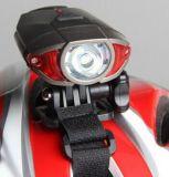 [أوسب] [رشرجبل] درّاجة مصباح أماميّ ذيل ضوء