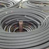 Manguito flexible del caucho del petróleo del manguito hidráulico espiral múltiple SAE100r13