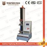 Máquina de teste elástica da única coluna para o material do PVC (TH-8203S)