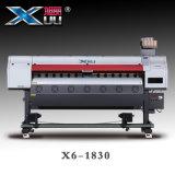 Impressoras de Xuli Digital - impressora de Sublimation de tintura do grande formato de cabeça de cópia 5113 de 1.8m para a matéria têxtil & as telas