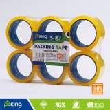 Nastro impaccante BOPP della Cina della pellicola giallastra del fornitore