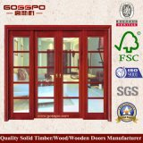 Самомоднейшая нутряная французская стеклянная дверь для живущий комнаты (GSP3-018)