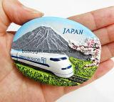 Magnete di costruzione personalizzato del frigorifero della resina per il regalo promozionale
