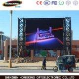 옥외 LED 스크린 전시 3 년 보장 P6 P8 P10 임대료 HD