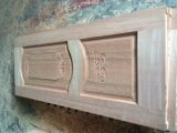Porta de madeira cinzelada da porta da pintura exterior antiguidade de madeira (XS2-027)
