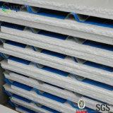 색깔 벽을%s 강철에 의하여 확장되는 Plystyrene EPS 샌드위치 위원회