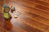 Revêtement de sol en bois moulé à la main cindé à la main / sol en bois dur chauffé