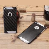 Tampa real luxuosa da fibra do carbono dos acessórios os mais novos do telefone móvel para o iPhone 7