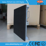 Acontecimientos de la etapa de HD P6 que hacen publicidad de la tarjeta de interior a todo color de la muestra del alquiler LED