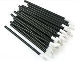 単一のリップのブラシの高品質のリップ50PCS/Bagのための使い捨て可能な構成のブラシ