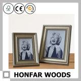 """blocco per grafici d'argento della foto di legno solido 5 """" X7 """" per la decorazione della casa dell'hotel"""
