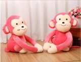De Valentijnskaarten die van de Liefjes van de pluche het Dierlijke En71 Stuk speelgoed van de Aap zitten