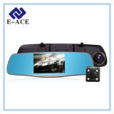 5.0二重レンズが付いているインチFHD 1080Pのバックミラー車Dvrs