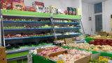Refrigerador/congelador de Surpermarket para o indicador da fruta