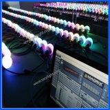 Sfera di illuminazione del partito del pixel di colore della strumentazione LED del randello tri