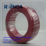 Fio elétrico encalhado PVC do agregado familiar de cobre