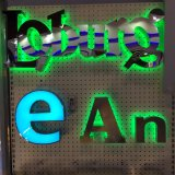Акриловая доска знака знака СИД магазина СИД светящая