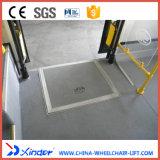 Plegable la rampa manual del sillón de ruedas con la base del acero de Stainles