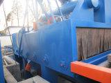 Máquina del chorreo con granalla de la placa de acero del transportador de rodillo (Q6912)