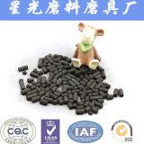 Kohle gründete Aylindrical betätigten Kohlenstoff für Abgas-Behandlung