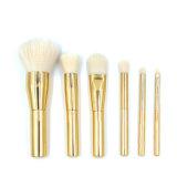 6PCS de gouden Borstel van de Make-up van de Oogschaduw van de Stichting van het Poeder