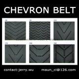 Nastro trasportatore infinito del Chevron per industriale fatto in Cina