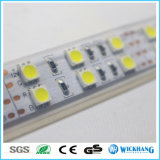 ハイライト5mの二重列5050 SMD 600 RGBW Rgbww RGBの白い屈曲LEDの滑走路端燈