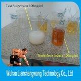 Steroidi di Bodybuilding del ciclo di taglio della polvere 10161-34-9 di colore giallo dell'acetato di Trenbolone