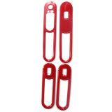 Cubierta roja protegida ULTRAVIOLETA material de los reguladores de la ventana del estilo del ABS a estrenar para Mini Cooper F54 (4PCS/Set)