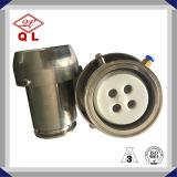 Válvula de verificação sanitária forjada da liberação do ar do aço inoxidável