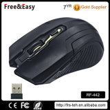 6 mouse senza fili ottico dei tasti 2.4G con i driver