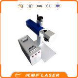 máquina do marcador do laser do USB 20With30With50W para o cartão anodizado do metal