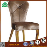 High End Hotel Lobby Restaurant Muebles de madera Dining Chair