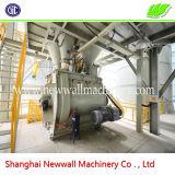 Type horizontal usine sèche de mélange de mortier