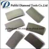 Pietra della lava dell'arenaria del marmo del granito di taglio di segmento della lamierina del diamante