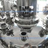 Serbatoio mescolantesi sanitario di reazione dell'acciaio inossidabile del riscaldamento di vapore