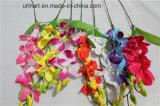 Großhandelschina-Fabrik direkte künstliche Cattleya Blumen-Orchideen für Dekor