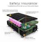 Easyacc 20000mAh rugoso impermeabiliza la batería de la potencia