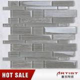Tuiles de mosaïque en verre de la Chine de bande irrégulière de prix bas