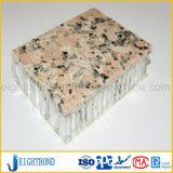 Spezielles Form-Stein-Korn-Aluminiumbienenwabe-Panel für Wand-Umhüllung