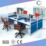 Sitio de trabajo moderno de la oficina del MDF del vector del ordenador de los muebles