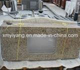 Tiger peau jaune Granite comptoir de cuisine (YQA-GC1004)