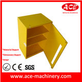 Зафиксируйте изготовление металлического листа нержавеющей стали коробки