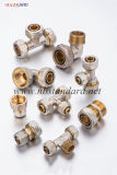 Encaixes de bronze do Pex-Al-Pex da compressão
