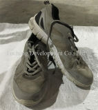 Tamanho grande barato a mão usada das sapatas segundas calç o estoque das sapatas do esporte (FCD-005)