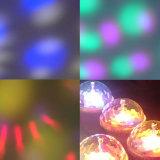 Luz do Xmas da barra do partido do disco do DJ do clube da ampola do estágio do diodo emissor de luz do OEM do talento