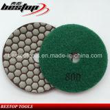 Пусковая площадка Bond диаманта смолаы гибкая сухая влажная полируя для гранита/мрамора/камня/бетона