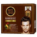 A Anit-Perda & nutre o cuidado de cabelo do jogo do champô do cabelo